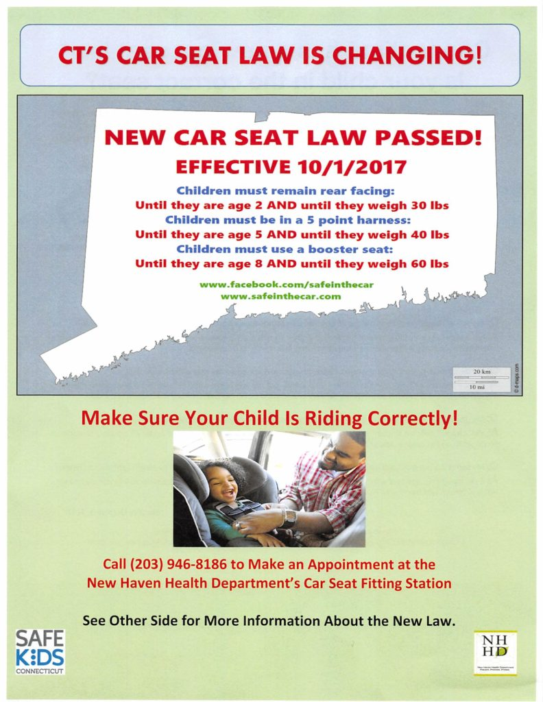 Car Seat Laws Ct